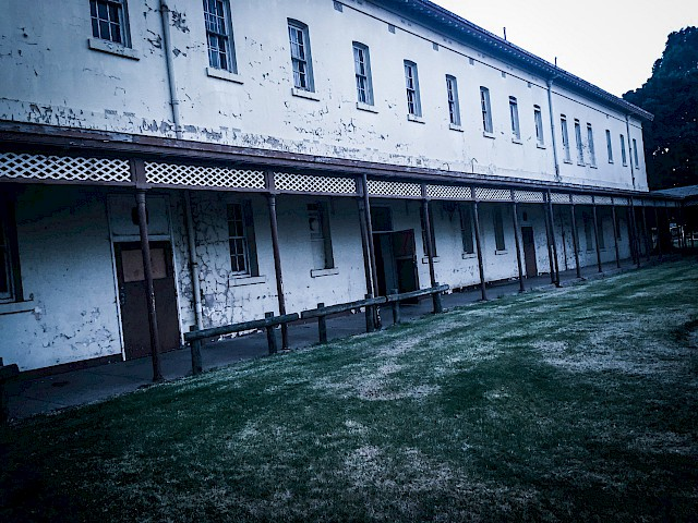 Aradale Lunatic Asylum Mens Ward