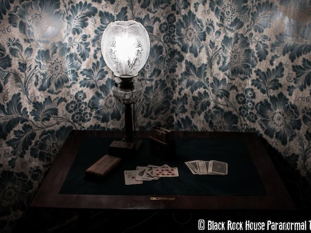 Black Rock House Dining Room Card Table