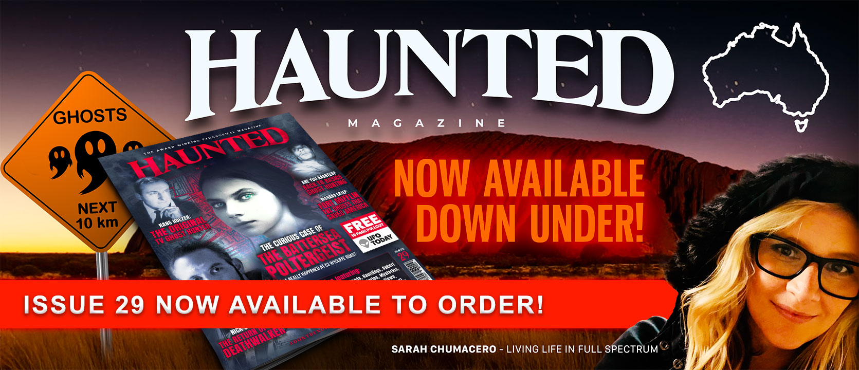 Haunted Magazine Issue 29