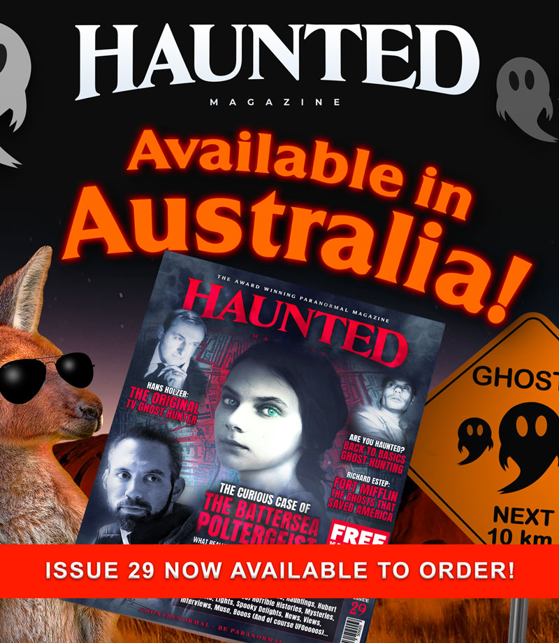 Haunted Magazine Issue 29 Mobile